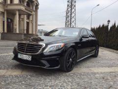 Mercedes w222 аренда Алматы